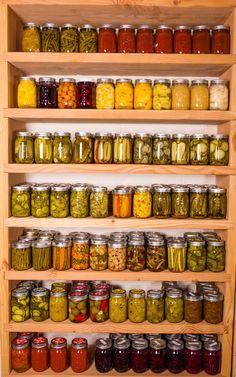 homemade shelf for canning storage diy canning pinterest rh pinterest com canning jar shelving plans canning jar wall art