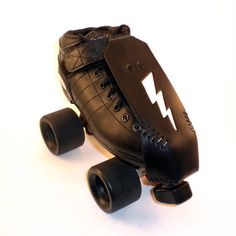 Roller Derby Toe Guards White Lightning by BabyBitch on Etsy, $35.00