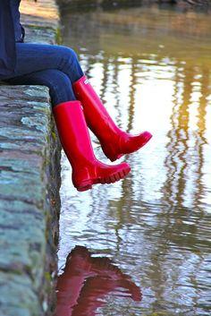 d1fb910de0 Modern Girls   Old Fashioned Men · Red Hunter BootsRed Rain BootsHunter  WelliesRain ...