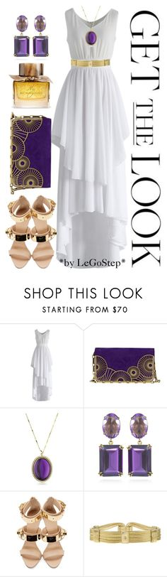 """Spring #114"" by legostep ❤ liked on Polyvore featuring Chicwish, Lara Bohinc, Lisa Stewart, Bounkit, Giuseppe Zanotti, Roberto Cavalli and Burberry"