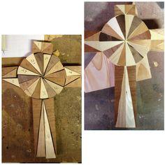 Various species wood cross