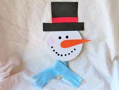 lavoretto pupazzo di neve con cd