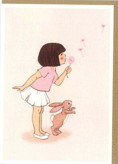 "Belle and Boo ""Dandelion"" Card - A Stationery and Craft Emporium - le petit paperie"