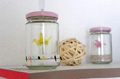 DIY déco : bocaux décorés
