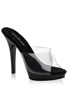 Black Slip On High Heel Sandal * Learn more by visiting the image link.