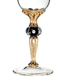 "DIG ( Diamonds in Glass ),is an Austrian company that came up with a way to suspend and insert genuine cut diamonds in borosilicate glass.    Their ""Imperial Champagne Glass"", prices at $ 85,000 usd per piece, is the most expensive champagne flute in the world."