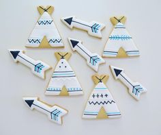 Tepees and Arrows for a little mans baby shower