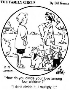 This makes me think of Mama, except she has 5 kids... and I'm the baby. :)