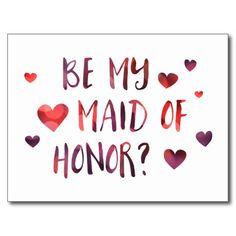 be my maid of honor bokeh