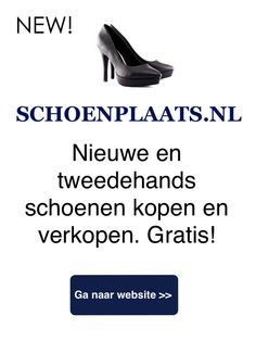 "Schoenplaats Campaign ""Nieuwe en tweedehands schoenen kopen en verkopen"" Gratis! ' re-using shoes, for a better and cleaner world..'"