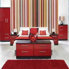 Visit this fab website and check out our bedroom/living furniture. design your own bedroom choose your fav drawer/door front from a choice of stunning finishes, then choose a base unit finish! White Gloss Bedroom Furniture, Living Furniture, Furniture Decor, Furniture Design, Bedroom Red, Bedroom Decor, Dream Bedroom, Bedroom Ideas, Design Your Own Bedroom