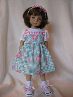 PINK RETRO  made to fit 13 Little Darling Effner by darladelight