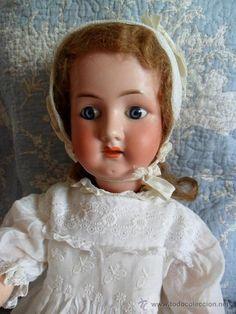 Preciosa muñeca Heubach Koppelsdorf molde 250, de 56 cm