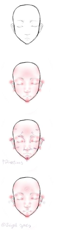 i made a drawing about how i do the face shadowing and blushing ^^ I hope you will like it :3