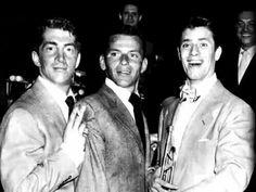 Dean Martin, Frank Sinatra & Jerry Lewis
