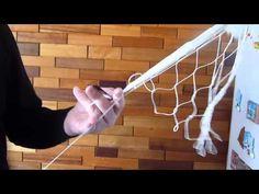 ▶ Вяжем рыболовную сеть 2. ( Fishing Net making ) - YouTube