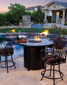 Perfect for gatherings poolside or on the patio.