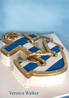 anchor cake by ~Verusca on deviantART
