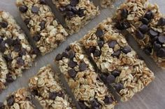 Sugar-Free GRANOLA BARS * snacks or breakfast on-the-go ** choice of add-ins