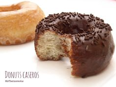 Donuts caseros - MisThermorecetas Cupcakes, Doughnuts, Churros, A Food, Make It Simple, Breakfast Recipes, Muffin, Cooking, Easy