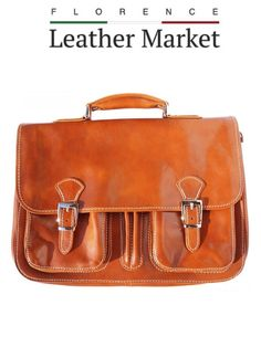 This classic, unisex Italian leather briefcase has everything the modern professional wants - elegance, functionality, quality. Made in Florence Italy for you Trendy Handbags, Fashion Handbags, Leather Handle, Calf Leather, Satchel, Crossbody Bag, Unisex, Leather Briefcase, Italian Leather