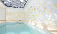 FL 10 Pool Mosaic from the Bisazza FLOW collection