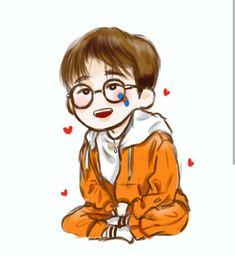 New baby love illustration drawings ideas Bobby, Ikon Member, Ikon Kpop, Ikon Wallpaper, Baby Girl Announcement, Baby Drawing, Fandom, Love Illustration, Baby Cartoon
