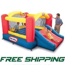 Little Tikes Mini Bouncy House Jump n Slide Model (Free Shipping)