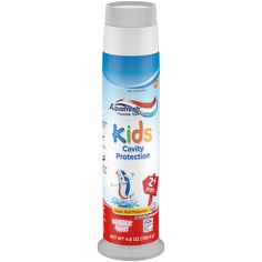 Aquafresh Kids Pump Cavity Protection Bubble Mint Fluoride Toothpaste for Cavity Protection, ounce - oz Baby Teething Gel, Aquafresh Toothpaste, Cavities In Kids, Kids Toothpaste, Dental, Kids Branding, Bubbles, Packaging Design, Shopping