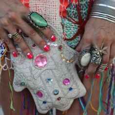 Hamsa bag and jewels!!