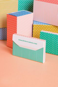 Good design makes me happy: Project Love: Letter Cotton