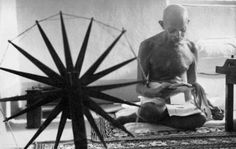 This image of Gandhi is amongst the 100 \'Most Influential Photos of All Time\'
