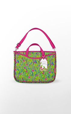 Lilly Pulitzer Laptop Tote with Shoulder Strap Sweet Bags, Laptop Tote, Home Gifts, Fashion Bags, Lilly Pulitzer, Diaper Bag, Shoulder Strap, Great Gifts, Dorm Room
