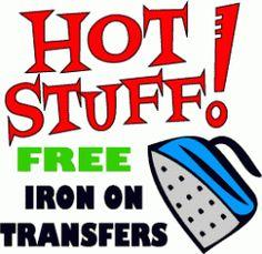 Printable Iron On Transfers