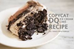 Here are the exact steps you need to make a perfect ice cream cake, just like the ones you buy at Dairy Queen. You wont be able to tell the difference!