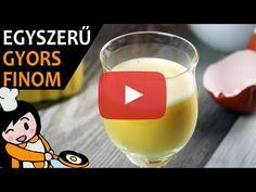 Glass Of Milk, Make It Yourself, Tableware, Youtube, Sink Tops, Eggnog Recipe, Home Made, Simple, Dinnerware