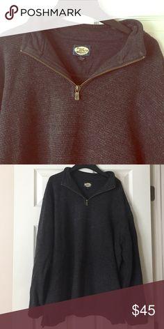 Men's Tommy Bahama Pullover Dark Gray Mens Half Zip Pullover Sweatshirt. Great Condition. Tommy Bahama Shirts Sweatshirts & Hoodies