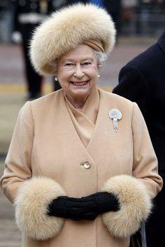 Queen Elizabeth II, 1999, very stylish.