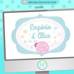 Logomarca, logo, logotipo fofo, logomarca joaninha, logotipo joaninha, logo joaninha, logo artesã, logo artesanato.