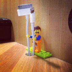 Lego cord storage