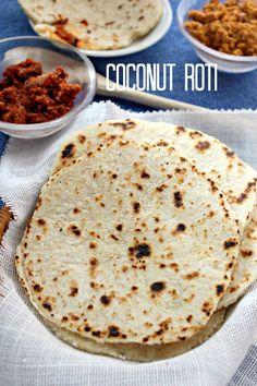 Coconut roti/pol roti is always favorite and a hit among Sri Lankans