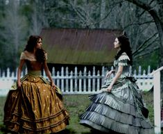 Katherine and Elena - katherine-pierce-and-elena-gilbert Fan Art