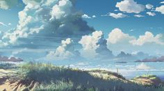 Beautiful anime landscapes