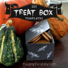 DIY: HALLOWEEN TREAT BOXES (BLOG PRINTABLE TEMPLATE AND FULL STEP BY STEP TUTORIAL WITH PHOTOS)
