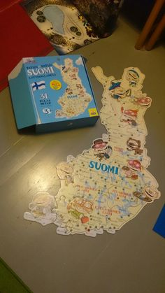 Suomi Finland puzzle