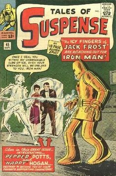 Tales Of Suspense Happy Hogan Pepper Potts Iron Man Marvel Key Marvel Comic Books, Comic Book Characters, Comic Books Art, Comic Art, Book Art, Marvel Characters, Vintage Comic Books, Vintage Comics, Marvel E Dc