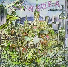 Asoka- Asoka.  Swedish progressive heavy rock from 1971.