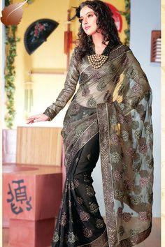 Latest Fashion: Party Wear Sarees 2011