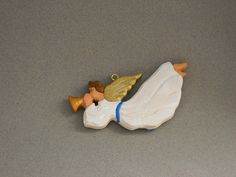 Angel with trumpet Christmas Ornament