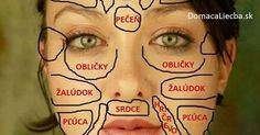 Traditional Chinese medicine claims that each part of the face is related to certain organs in your body. Here is how this chinese face map looks like. Chinese Face Map, Face Mapping, The Face, Heart And Lungs, Body Organs, Facial Massage, Massage Tips, Traditional Chinese Medicine, Acne Treatment